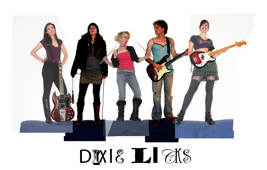 dixie licks standing